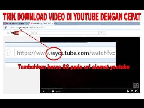 Trick Download Video Youtube Tanpa Software Youtube