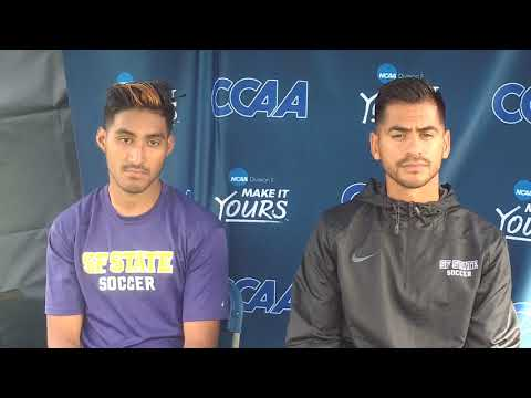 CCAA Men's Soccer Semifinal #1 - San Francisco State post-game