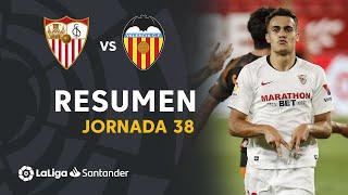 Resumen de Sevilla FC vs Valencia CF (1-0)