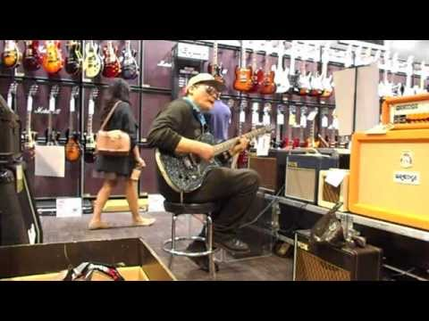 """""""Testing Out & Playing The Dan Electro Baritone Guitar At G.C.""""  Aug. 7, 2015 - Big Will"""