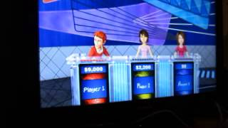Jeopardy! Nintendo Wii U Run: Game 2
