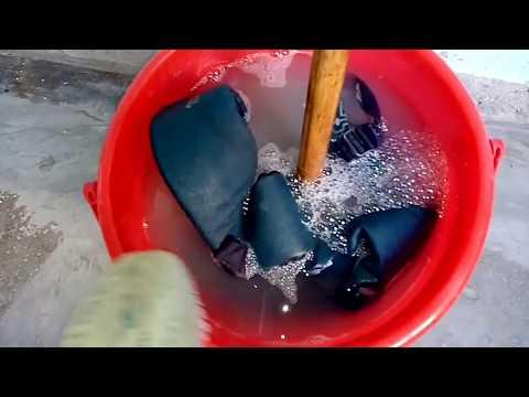 How to clean dirty school /college bag, bagpack , clean करें school bags को इस तरीके से बनाए नए जैसा
