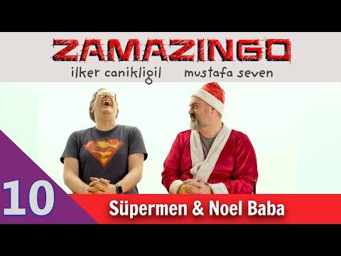 Süpermen Ve Noel Baba - Zamazingo B10