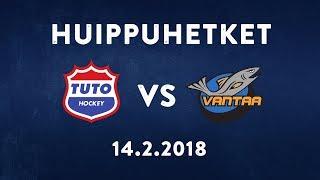 TUTO - K-VANTAA ottelukooste (14.2.2018)