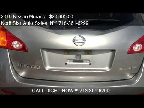 2010 Nissan Murano Sl With Backup Camera For Sale In