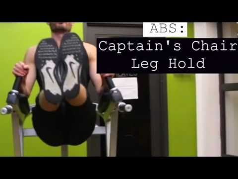 Abs Captain's Chair Leg Hold