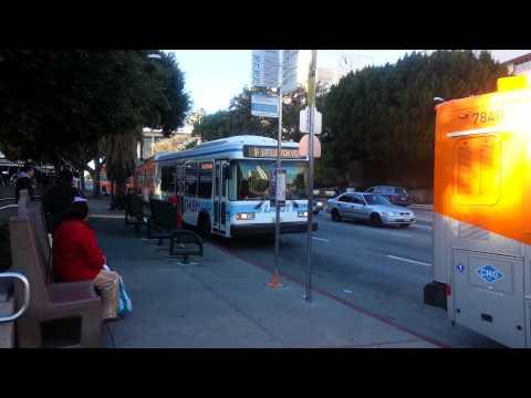 Downtown L.A. Bus Takeoffs