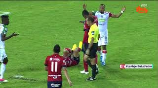Liga Aguila 2018-I   Fecha 7 Once Caldas 3-2 Medellín