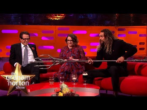 Download Youtube: Jason Momoa Shows Off His Aquaman Quindent | The Graham Norton Show