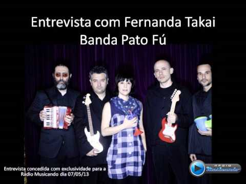 Entrevista Fernanda Takai - Pato Fú