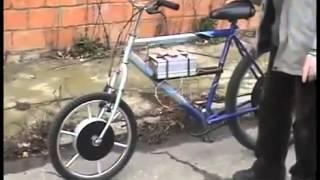 Велосипед на аккумуляторе(Я бы хотел себе такой велосипед. Незаменимая вещь при движении по нашим пробочным городам., 2013-03-10T19:19:01.000Z)