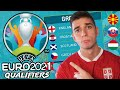 EURO 2020 End of Qualifiers REACTION
