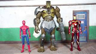 Hasbro Marvel Legends Avengers Infinity War Movie Cull Obsidian BAF Review