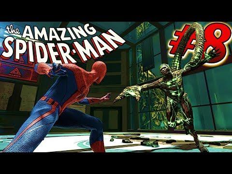 Человек-паук #8 Spider Man БИТВА СО СКОРПИОНОМ Игровой мультик про человека-паука