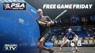 """It's all happening, such an exciting game!"" - Free Game Friday - Elias v ElShorbagy"