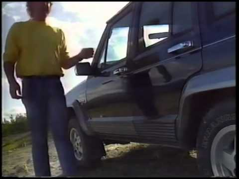 Old Top Gear Jeep Cherokee (1992)