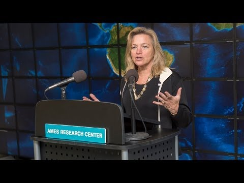 NASA's Chief Scientist Visits Ames Research Center