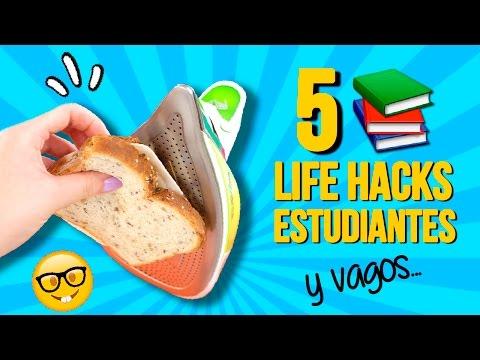 ¡¡Los mejores 5 TRUCOS para ESTUDIANTES!! ✅  Top Tips & Tricks en 1 minuto
