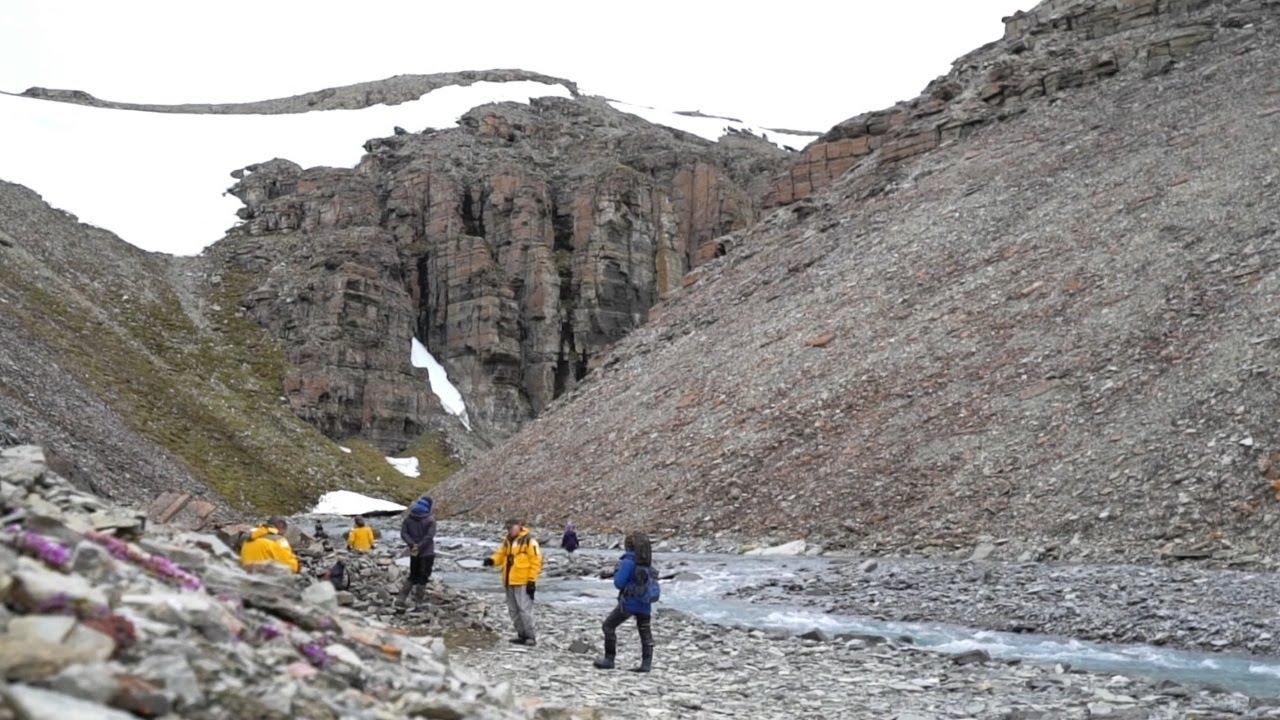 【動画】荒野の北極を歩く