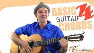 basic guitar chords lesson 4 of 5   learn in this guitar lesson dm e7 b7 chords