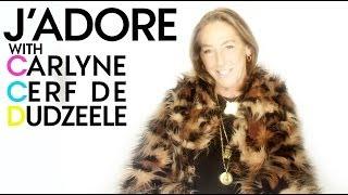 Carlyne Cerf de Dudzeele: J'Adore - Azzedine Alaïa