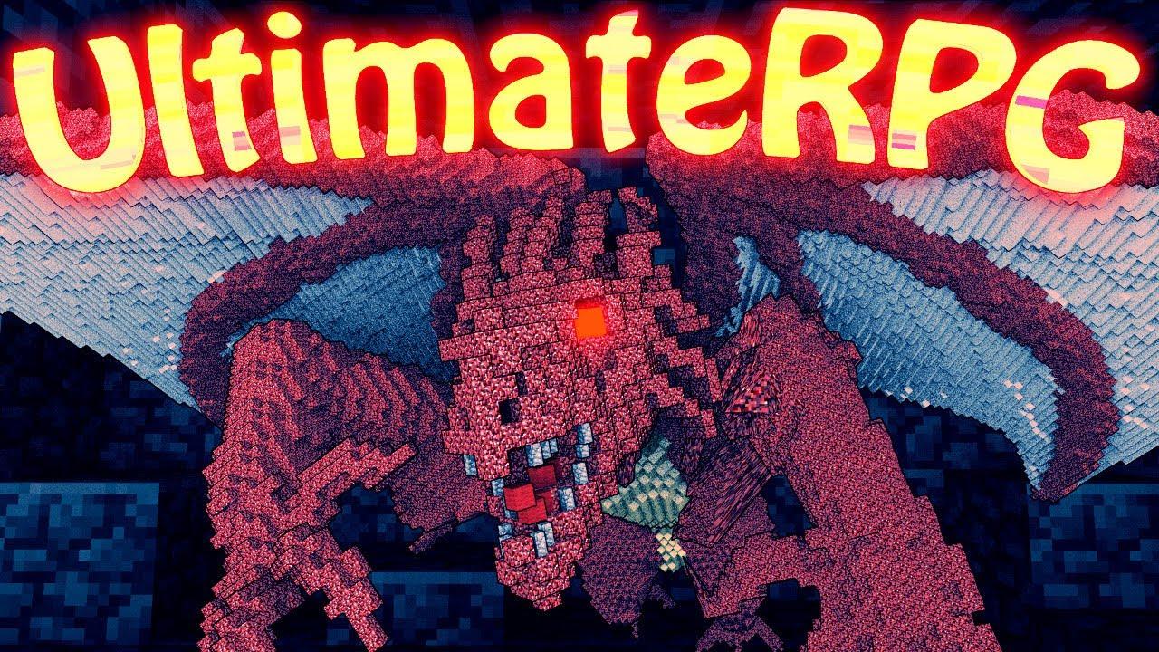 Minecraft : ULTIMATE RPG (CLASSES, BOSSES, ABILITIES ...