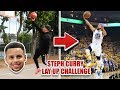STEPH CURRY BASKETBALL CHALLENGE!! (IMPOSSIBLE NBA SHOTS)