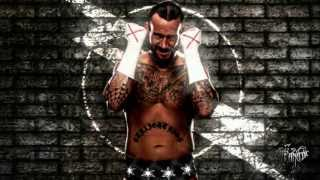 CM Punk Custom Theme Song ♫Fixation On The Darkness♫ (2011)
