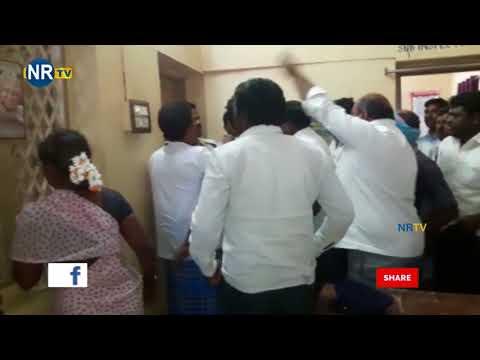 TDP and YSRCP Leaders Fight at Somala Mandal || Chittoor- NRTV