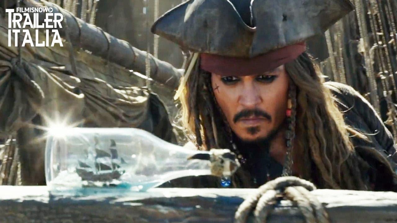 Pirati Dei Caraibi 5 Torna Il Mitico Jack Sparrow Nel