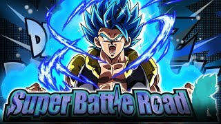 BLUE GOGETA & MOVIE HEROES OBLITERATE CATEGORY SUPER BATTLE ROAD! (DBZ: Dokkan Battle)