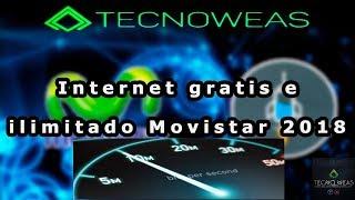 Como tener internet gratis movistar 2018