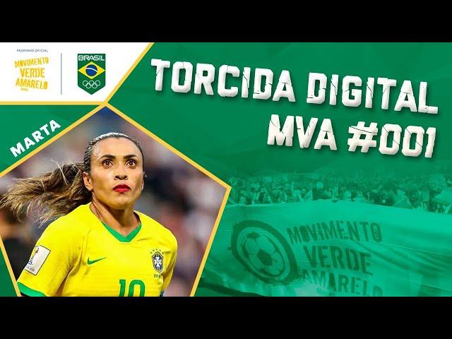 Torcida Digital MVA #001 - Tóquio 2021 - Estreia do Futebol Feminino