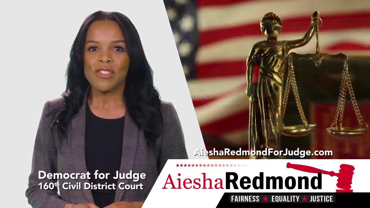 Aiesha Redmond For Judge