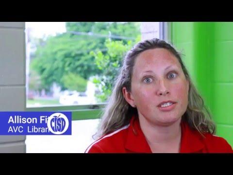 Allison Fitzgerald, AV Cato Elementary Teacher-Librarian Vision