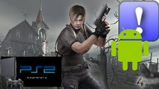 Play! Resident evil 4 ps2 emulator android