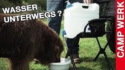 Ein Kanister für alle Felle?! Praktische Wasserversorgung im Auto, für Camping und Vanlife