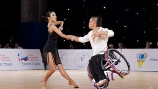 #IPCTop50 - No. 44: Combi Latin Class 2 final - 2013 IPC Wheelchair Dance Sport Continents Cup