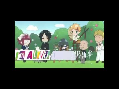 (I'm Alive! Black Butler outro, by: Becca) Lyric Video {Foxesse}