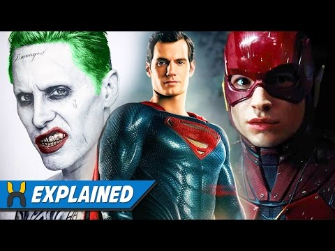 NEW DCEU Upcoming Movies & Characters Leaked Info Breakdown