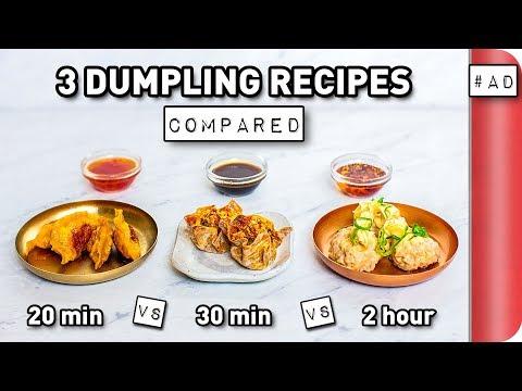 3 Dumpling Recipes COMPARED