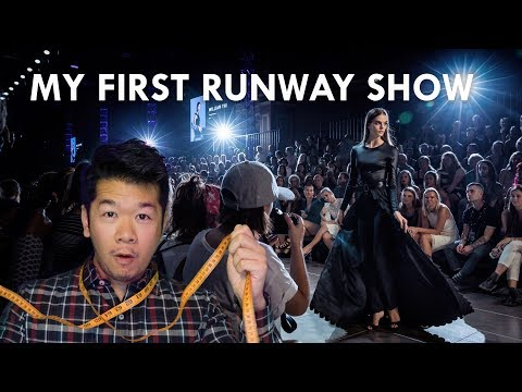 WILLIAM THI Virgin Australia Melbourne Fashion Festival VAMFF Runway