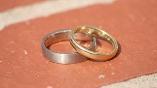 How to make your own wedding rings with Mark Lloyd FIPG