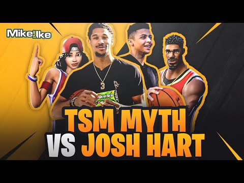 Myth Vs Josh Hart | Mike And Ike Fortnite Challenge