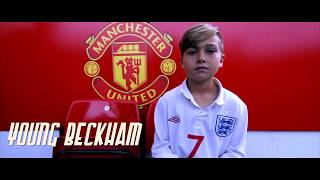 "Brighton Lee Sagal behind the scenes of ""YOUNG BECKHAM"" film"