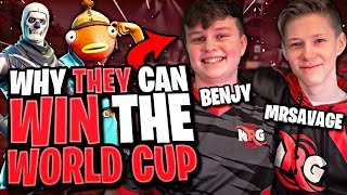 Why NRG Mr Savage and benjyfishy can WIN Fortnite World Cup Duos Highlights All Weeks