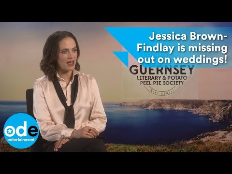 Jessica BrownFindlay is missing out on weddings!