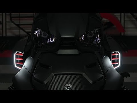 Can-Am Ryker Dual Color LED Air Scoop Lighting Strips