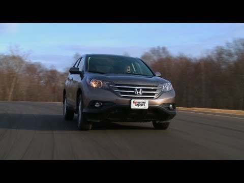 2012 Honda CR-V review from Consumer Reports