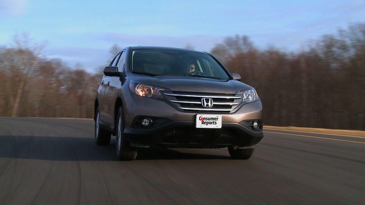 2012 Honda CR V Review | Consumer Reports   YouTube